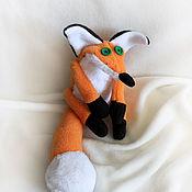 """Куклы и игрушки ручной работы. Ярмарка Мастеров - ручная работа Лис из м/ф """"Маленький принц"""". Handmade."""