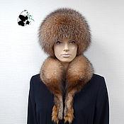 Аксессуары handmade. Livemaster - original item Fur kit Fox fur