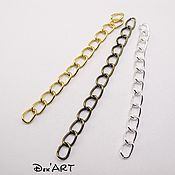 Материалы для творчества handmade. Livemaster - original item The chain extender of metal, 5 cm.. Handmade.