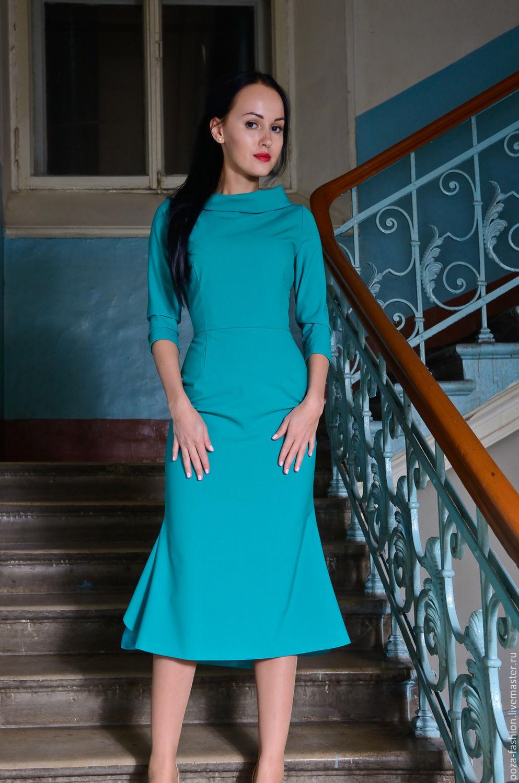Бирюзовые платья в магазине