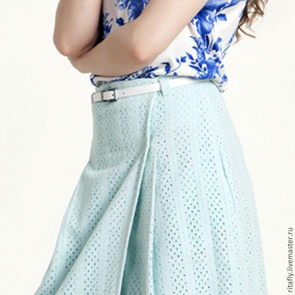 Фото юбка с запахом летняя