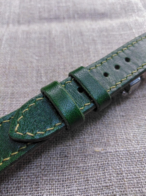 Watchband (20/18 mm), Watch Straps, Ekaterinburg,  Фото №1