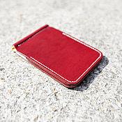 Сумки и аксессуары handmade. Livemaster - original item Wallet with money clip + white lining. Handmade.