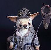 Куклы и игрушки ручной работы. Ярмарка Мастеров - ручная работа Эмиль малыш фенек 14см. Handmade.
