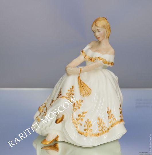 Винтажные предметы интерьера. Ярмарка Мастеров - ручная работа. Купить Девушка Heather Royal Doulton золото Англия 47. Handmade.