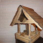Для домашних животных, ручной работы. Ярмарка Мастеров - ручная работа Кормушка для уличных птиц. Handmade.