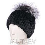 Аксессуары handmade. Livemaster - original item Fur hats from fur of a Muskrat. Handmade.