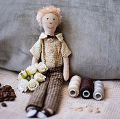 Куклы и игрушки ручной работы. Ярмарка Мастеров - ручная работа Мальчик Саша. Handmade.