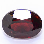 Материалы для творчества handmade. Livemaster - original item Garnet rhodolite 8,8x6,5 mm. of 2,47 ct. Handmade.