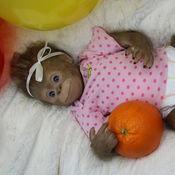 Куклы и игрушки ручной работы. Ярмарка Мастеров - ручная работа Бинди девочка. Handmade.