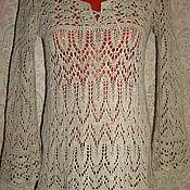 Одежда ручной работы. Ярмарка Мастеров - ручная работа туника льняная. Handmade.