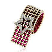 Украшения handmade. Livemaster - original item Gold ring with rubies 9,8 ct German Kabirski. Handmade.