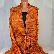 Аксессуары handmade. Livemaster - original item Stole silk batik Shulamith. Handmade.