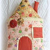 Для дома и интерьера ручной работы. Ярмарка Мастеров - ручная работа Подушка Домик. Handmade.