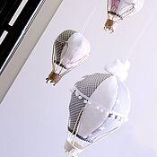 """Элементы интерьера ручной работы. Ярмарка Мастеров - ручная работа Большой воздушный шар """"Вверх"""" d-20. Handmade."""