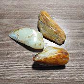Материалы для творчества handmade. Livemaster - original item White pebble jade. Handmade.