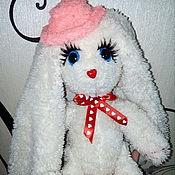 Куклы и игрушки ручной работы. Ярмарка Мастеров - ручная работа Плюшевая Зайка с длинными ушками. Handmade.
