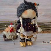 Куклы и игрушки ручной работы. Ярмарка Мастеров - ручная работа куколка малышка Фросенька. Handmade.