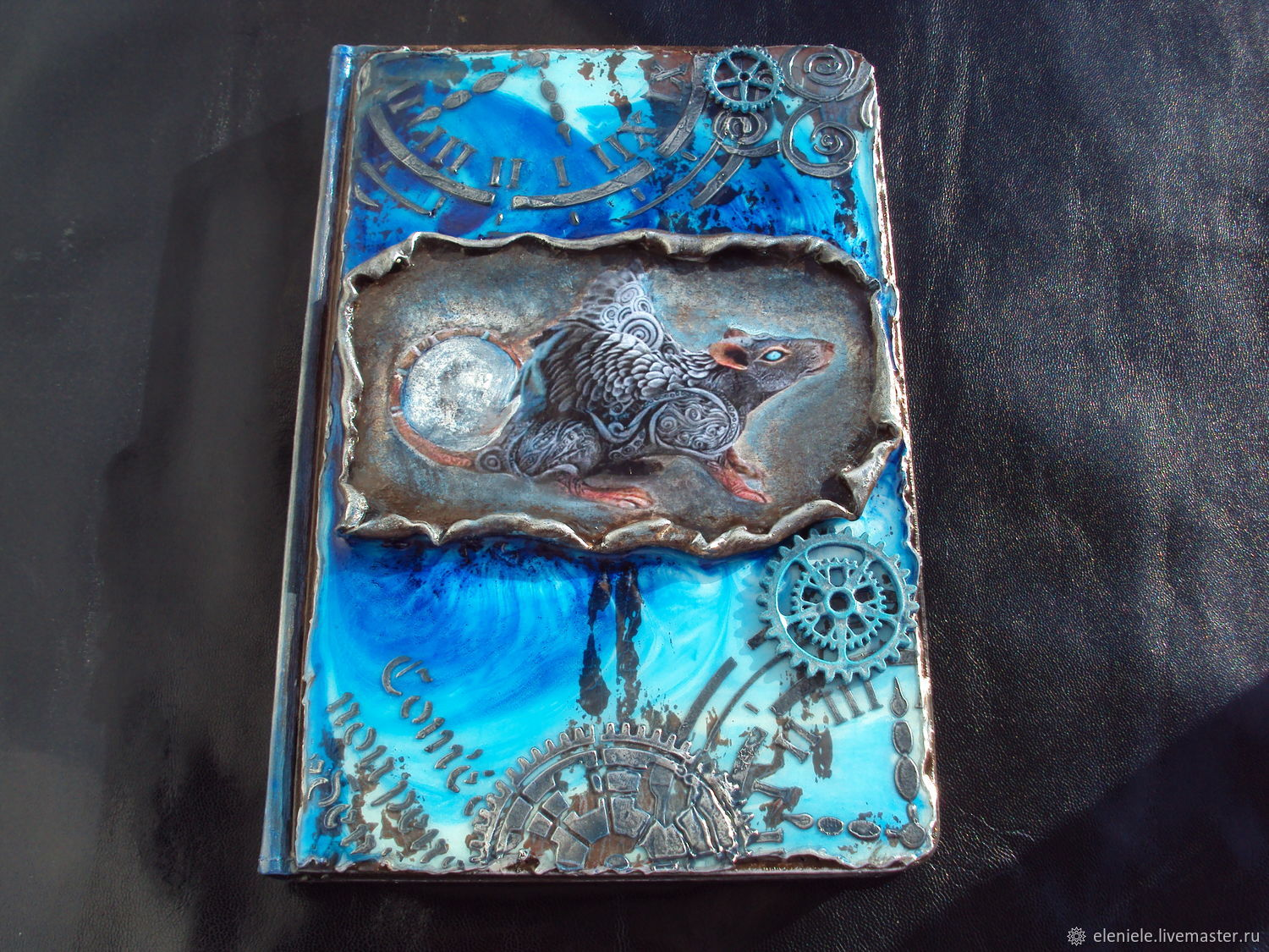Diary glow in the dark Rat steampunk, Diaries, Moscow,  Фото №1