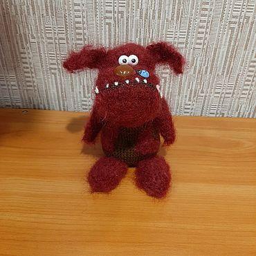 Куклы и игрушки ручной работы. Ярмарка Мастеров - ручная работа Игрушки: собака. Handmade.