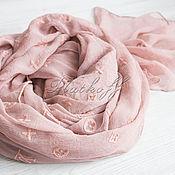 Аксессуары handmade. Livemaster - original item Silk stole from Louis Vuitton