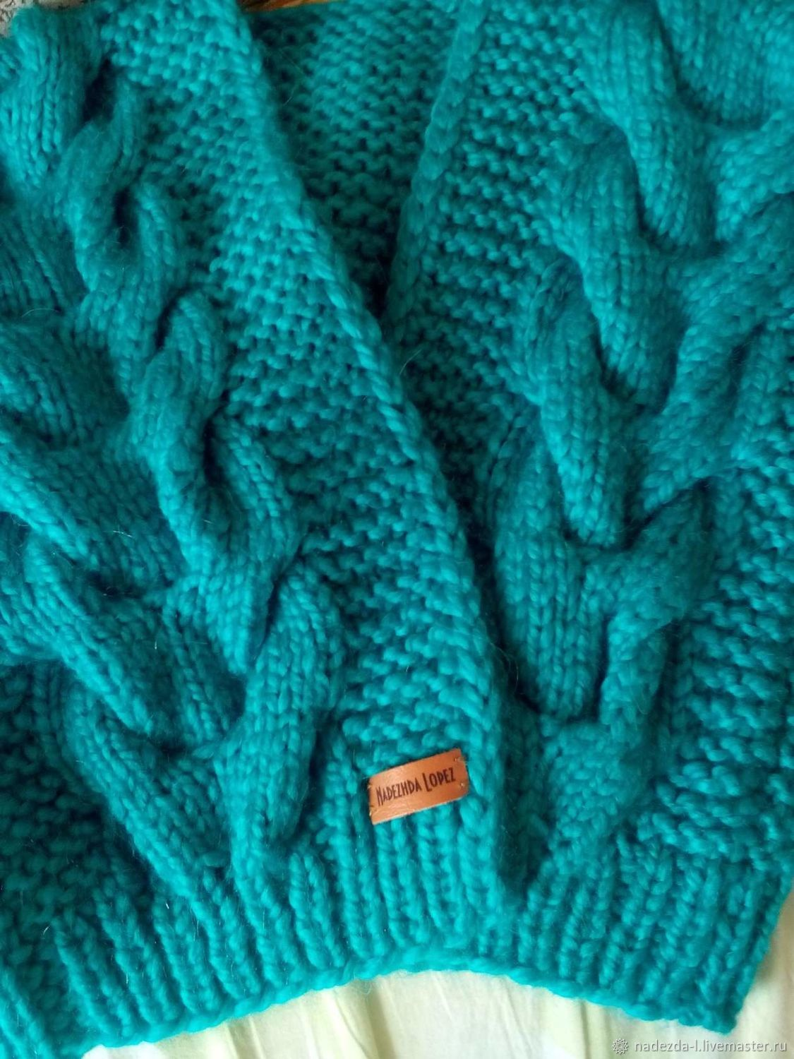 Knitted bomber ' Emerald.!', Cardigans, Belovo,  Фото №1