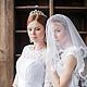 свадебная диадема, тиара невесты, свадебное украшение для невесты