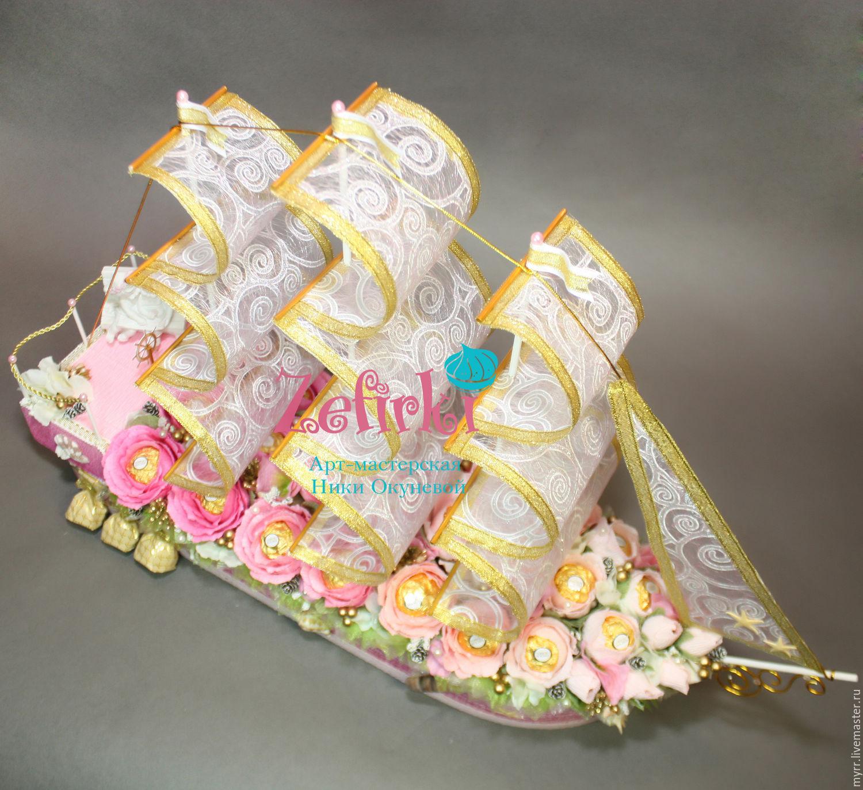 Корабль в подарок на свадьбу