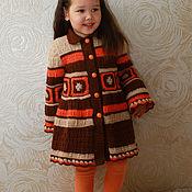 """Работы для детей, handmade. Livemaster - original item Coats Baby """"autumn fantasy"""". Handmade."""