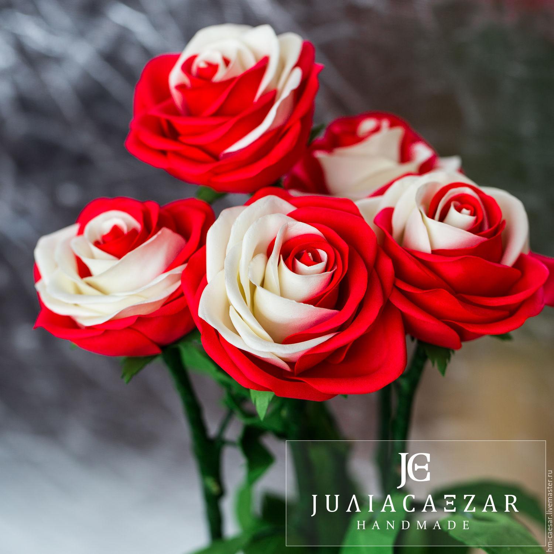 Мастер класс бокаловидной розы из фоамирана