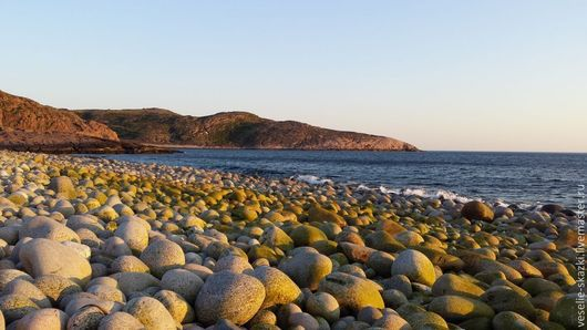 Фотокартина Берег Баренцева моря, полярная ночь, Веселые сказки (Светлана), фото, картинка