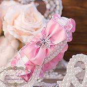 """Свадебный салон ручной работы. Ярмарка Мастеров - ручная работа Подвязка """"Роуз"""". Handmade."""