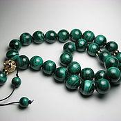 Фен-шуй и эзотерика handmade. Livemaster - original item Rosary malachite