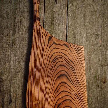 Посуда ручной работы. Ярмарка Мастеров - ручная работа Доска из ясеня. Handmade.