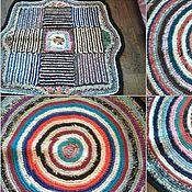 Для дома и интерьера ручной работы. Ярмарка Мастеров - ручная работа деревенский коврик. Handmade.