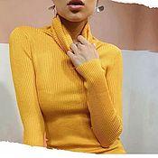 Одежда handmade. Livemaster - original item Turtlenecks cashmere, turtlenecks thin, turtlenecks for every day!. Handmade.