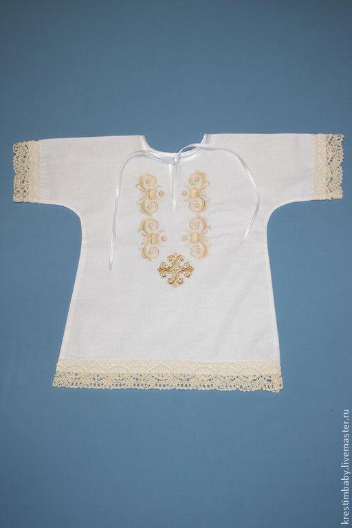Крестильные принадлежности ручной работы. Ярмарка Мастеров - ручная работа. Купить Крестильная рубашечка. Handmade. Белый, крестильный комплект