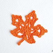 Цветы и флористика handmade. Livemaster - original item Maple leaf knit. Handmade.