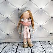 Куклы и пупсы ручной работы. Ярмарка Мастеров - ручная работа Кукла текстильная интерьерная ручной работы Марина. Handmade.