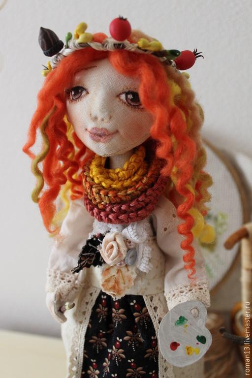 Куклы и игрушки ручной работы. Ярмарка Мастеров - ручная работа. Купить По имени Осень.. Handmade. Рыжий