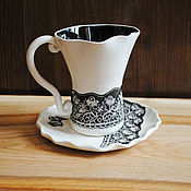 Посуда handmade. Livemaster - original item A couple of tea
