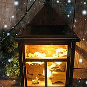 """Кукольные домики ручной работы. Ярмарка Мастеров - ручная работа Волшебный фонарь """"Сказка на ночь"""". Handmade."""