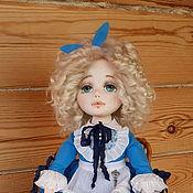 Куклы и пупсы ручной работы. Ярмарка Мастеров - ручная работа Алиса-текстильная куколка. Handmade.