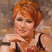 Картины и панно handmade. Livemaster - original item Paintings: portrait based on an oil on canvas photo. Handmade.