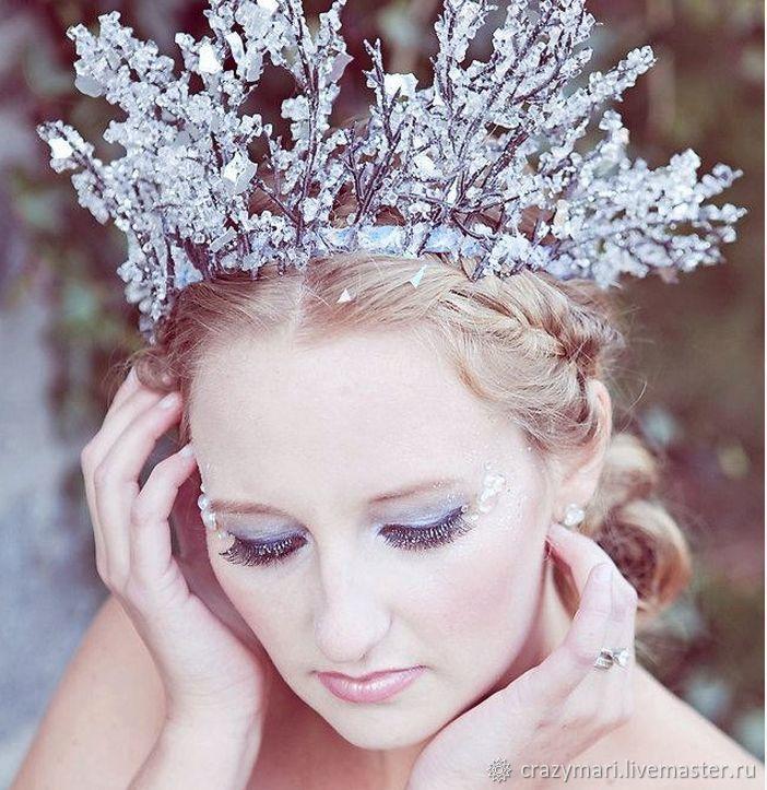 Корона для снежной королевы фото