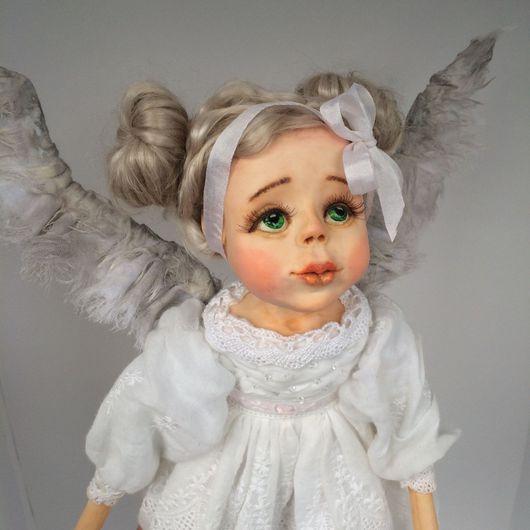 Коллекционные куклы ручной работы. Ярмарка Мастеров - ручная работа. Купить Авторская кукла ручной работы -Ангел- хранитель. Handmade.