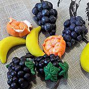 Кукольная еда ручной работы. Ярмарка Мастеров - ручная работа Кукольная еда: Виноград из полимерной глины. Handmade.