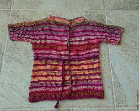 Одежда для девочек, ручной работы. Ярмарка Мастеров - ручная работа. Купить Кардиган для девочки Ягодное лето р.98-104. Handmade.