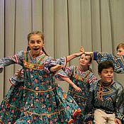 Одежда ручной работы. Ярмарка Мастеров - ручная работа Платье таневальное для девочки. Handmade.