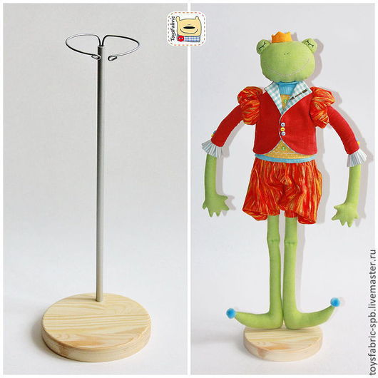 Подставка для кукол деревянная